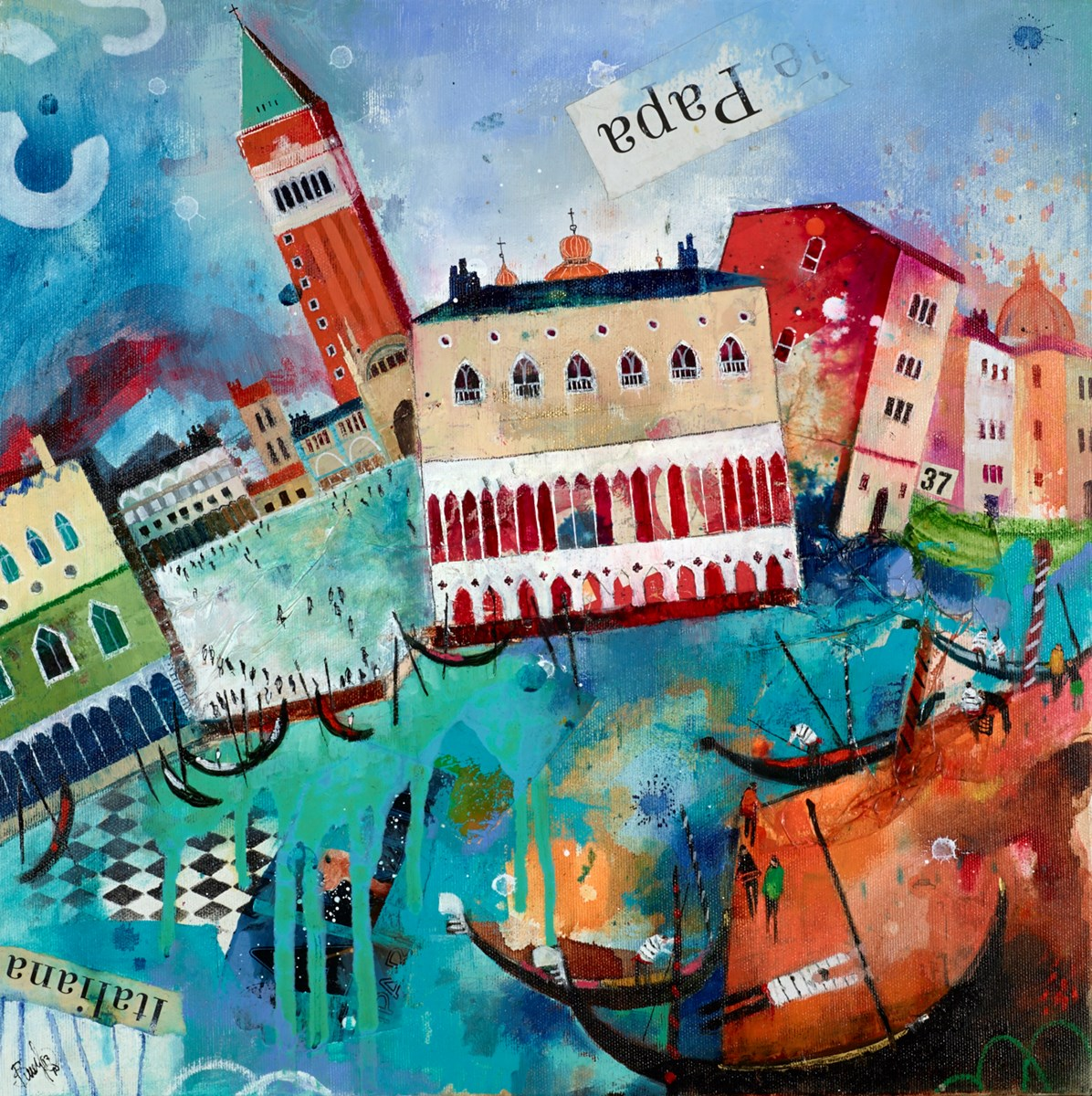 Italiana by richard burel -  sized 20x20 inches. Available from Whitewall Galleries